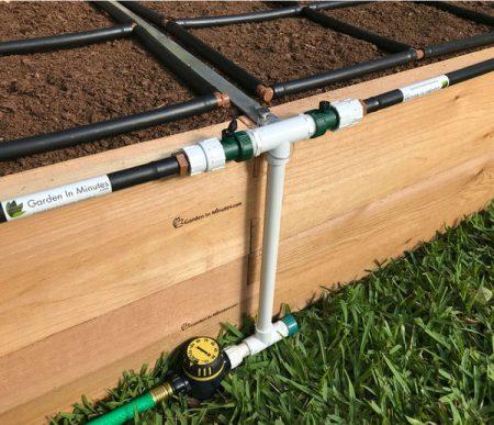 garden irrigation manifold 16in height