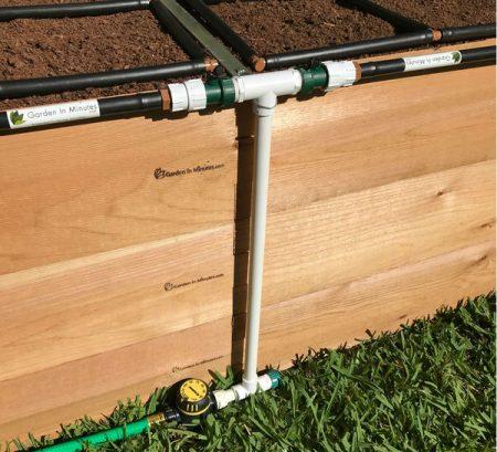 garden irrigation manifold 24in height 2