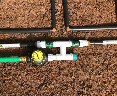 garden irrigation manifold ground level (2)