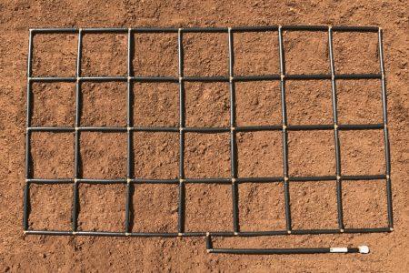 4x7 Garden Grid watering system