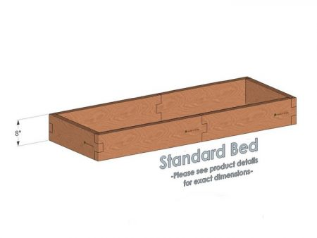 2x6 Raised Garden Bed - Standard Height