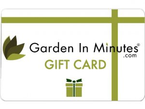 GardenInMinutes Gift Card 4 by 3
