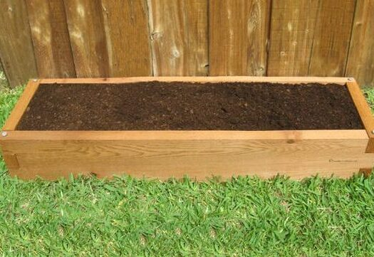 1x4 Raised Garden Bed