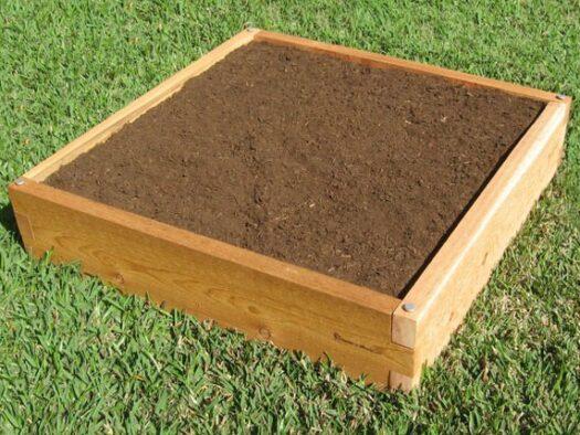 3x3 Raised Garden Bed