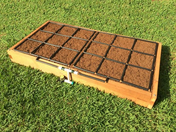 3x6 Raised Garden Kit