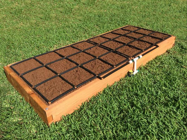 3x8 Raised Garden Kit