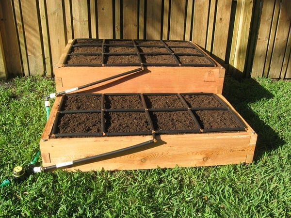 Tiered Raised Garden Kit 4x5