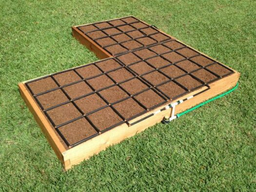 Corner Shaped Raised Garden Kit