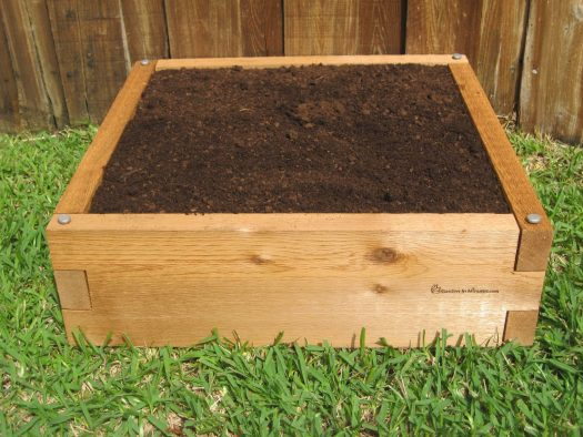 2x2 Raised Garden Bed