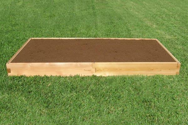 3x8 Cedar Raised Garden Bed Tool Free Setup Gardeninminutes Com