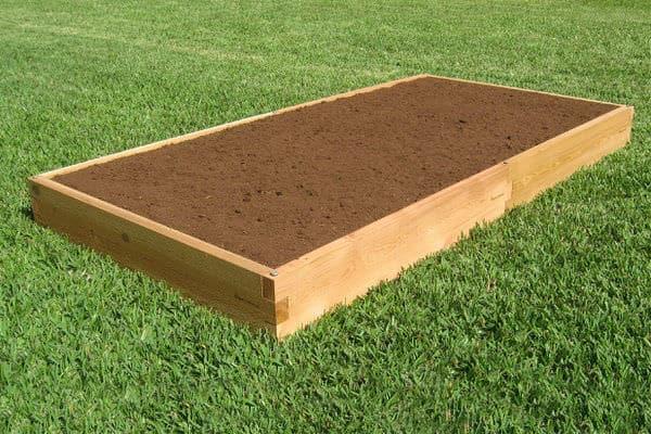 4x8 Cedar Raised Garden Bed Tool Free Setup Gardeninminutes Com
