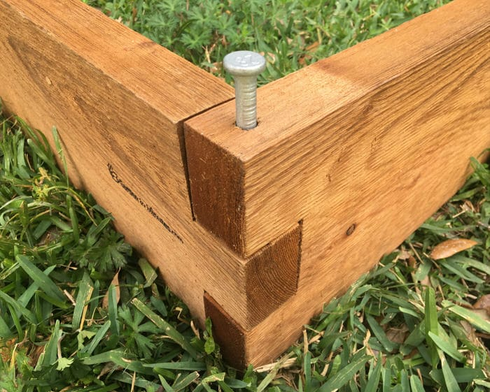 L Shaped Raised Garden Bed