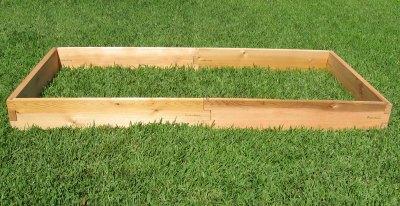 4ft Cedar Raised Garden Expansion Boards