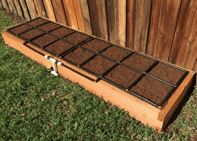 Raised Garden Kit w/ Garden Grid watering system