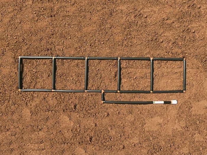 1x5 Garden Grid watering system 700x525