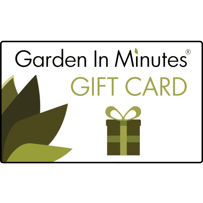 Garden In Minutes Gift Card Standard