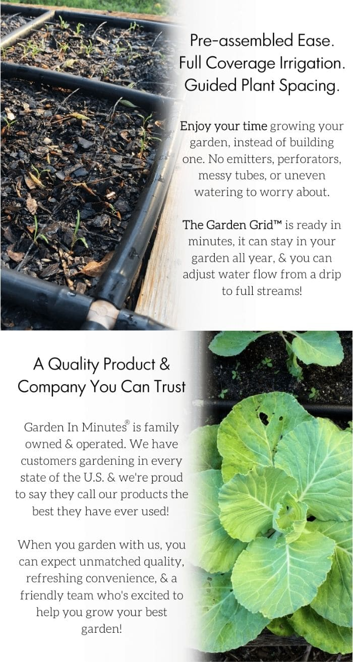 Garden Grid product page feature tower
